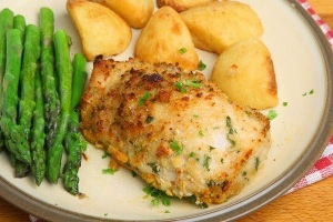 Garlic Parmesan Chicken Breasts