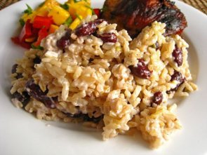 Jamaican Red Beans and Rice 500